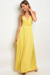 C51-A-1-D0463 YELLOW DRESS 2-2