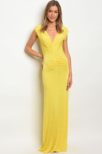 C45-A-4-D0074 YELLOW DRESS 2-2-2
