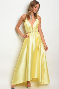 127-2-3-D17554 YELLOW DRESS 2-3