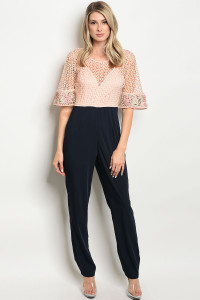 S14-6-3-J16792 BLUSH NAVY JUMPSUIT 2-2-2