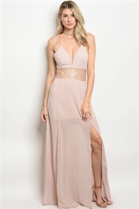 113-2-2-D17277 BLUSH LACE DRESS 2-2-2