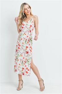 S14-3-3-D32354 OFF WHITE FLORAL DRESS 3-2-1