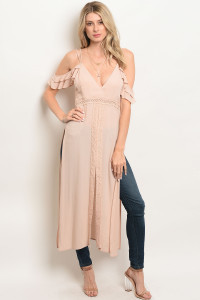 S13-1-1-T13368 BLUSH OFF SHOULDER TOP 3-2-1