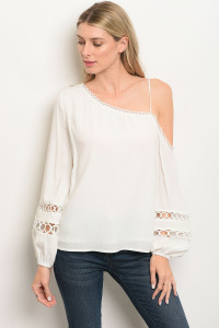 S14-2-1-T13468 OFF WHITE TOP 3-2-1