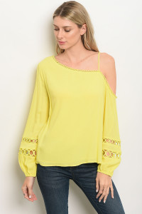 S14-2-1-T13468 YELLOW TOP 3-2-1