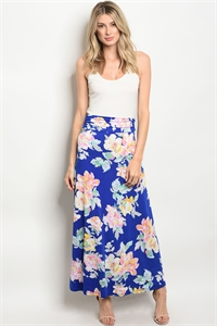 C77-A-1-S56025 ROYAL FLORAL SKIRT 3-2-2