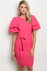 C29-A-2-D050233 FUCHSIA DRESS 2-2-2