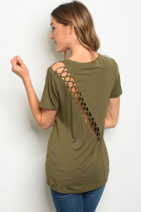 S12-7-4-T23733 OLIVE TOP 2-2-2