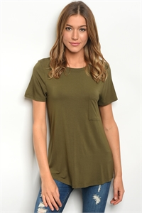 136-1-3-T23733 OLIVE TOP 1-2-2