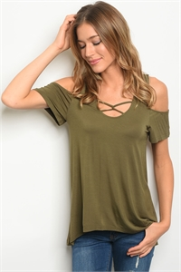 S14-11-5-T23777 OLIVE TOP 2-2-2