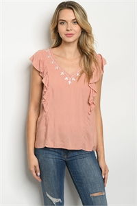 136-2-3-T9462 BLUSH WHITE TOP 2-2-2