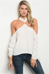 S15-2-1-T9638 OFF WHITE TOP 2-2-2