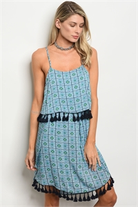 135-2-5-D14384 BLUE NAVY DRESS 2-1-1