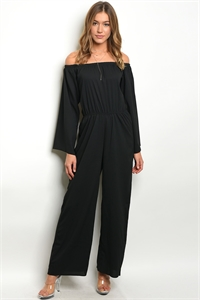 S15-9-3-J80531 BLACK JUMPSUIT 2-2-2