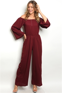 S2-10-3-J80531 WINE JUMPSUIT 2-2-2