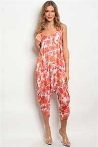 C61-A-2-J11499 IVORY ORANGE JUMPSUIT 2-2-2