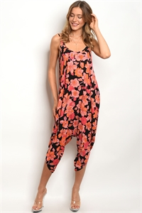 C61-A-2-J11499 BLACK ORANGE JUMPSUIT 2-2-2