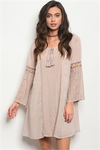 S9-15-3-D13778 TAUPE DRESS 2-2-2