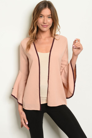 S16-5-5-J10632 BLUSH WINE JACKET 2-2-2