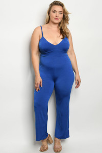 C92-A-1-J1679X ROYAL PLUS SIZE JUMPSUIT 2-2-2