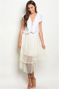 S19-6-2-S40454 IVORY WITH PEARL SKIRT 2-2-2