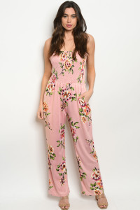136-2-1-J51452 BLUSH FLORAL JUMPSUIT 2-2-2