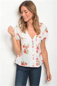 S23-8-1-T59269 WHITE FLORAL TOP 4-3