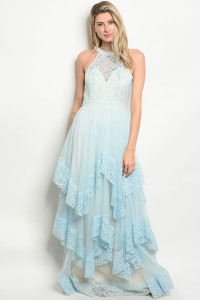 124-2-1-D24726 CREAM BLUE DRESS 2-2-2