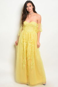 108-1-3-D2000 YELLOW DRESS 2-2-2