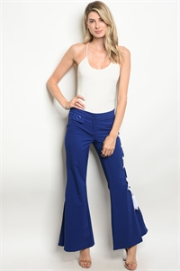 S15-9-6-P47043 NAVY WHITE PANTS 2-2-2