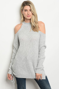 S6-3-3-D2215 GRAY SWEATER 2-2-2