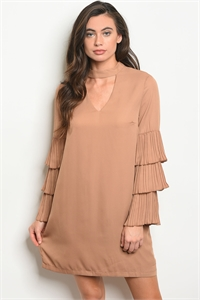 S11-19-2-D72101 TAUPE DRESS 2-2-2