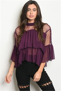 S14-8-5-T21465 PURPLE TOP 2-2-2
