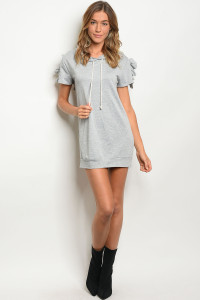 C88-A-7-D50440 GRAY SWEATER DRESS 2-2-2