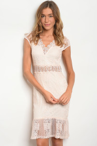 126-3-4-D16708 BLUSH NUDE DRESS 3-2-2