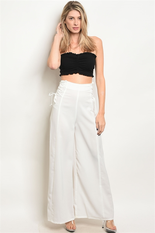 S19-3-1-TP6027 OFF WHITE PANTS 3-2-1