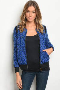 S15-10-3-J8996 BLUE BLACK JACKET 2-2-2