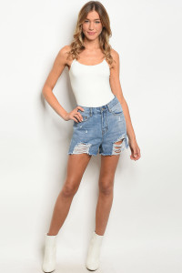 S16-12-1-S0009 BLUE DENIM SHORTS 3-3