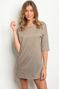 S9-12-2-D73327 TAUPE DRESS 3-2-1