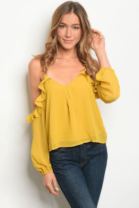 S13-7-3-NA-T72096 MUSTARD TOP 2-2-2