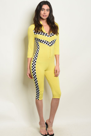 C89-A-3-J10232 YELLOW JUMPSUIT 3-2-1