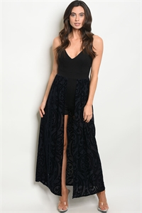 C35-A-6-D71289 NAVY BLACK DRESS 2-2-2