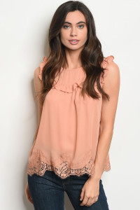 S10-20-1-T3360 BLUSH TOP 2-2-2