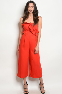 135-2-3-J71439 RED JUMPSUIT 2-2-2