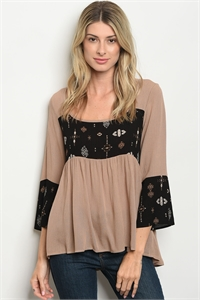 C26-B-4-T6244 TAUPE TOP 2-2-2