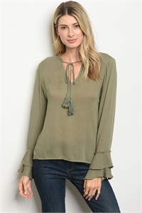 S17-11-6-T428 OLIVE TOP 2-2-2
