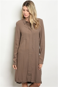 S9-12-5-D442 BROWN DRESS 2-2-2