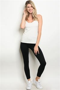 114-2-4-LMK08 BLACK LEGGINGS / 5PCS