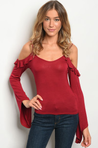 C58-A-2-T2415 BURGUNDY TOP 2-2-2