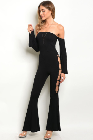 C25-A-4-J11118 BLACK JUMPSUIT 2-2-2
